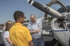 Ken-Haelein-Explains-Airplanes-to-Young-Eagle-Kids.-Photo-Matt-Smith-12