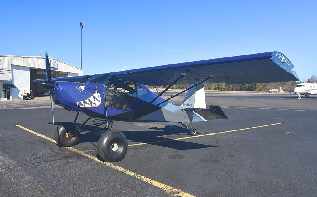 N133WZ Visits Moore County Ramp